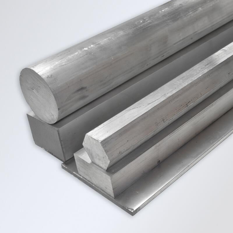 Aluminum Bar - Flat, Hex, Round, Square